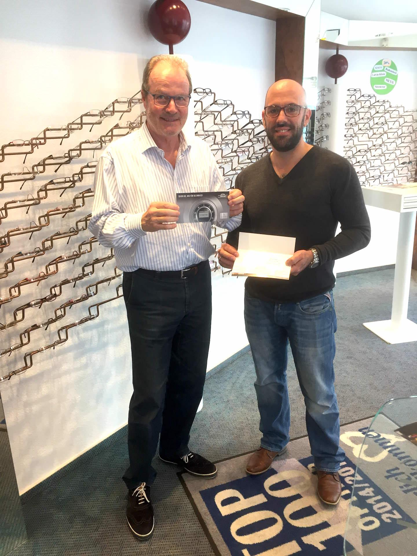 3. Platz: Holger Kuprat - 50 € Gutschein