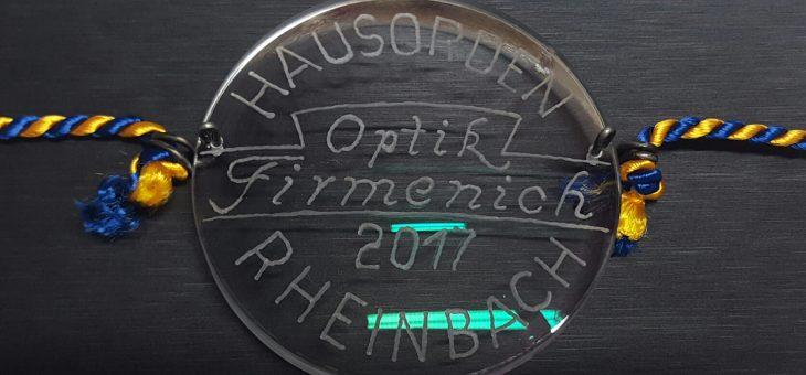 Prinzenempfang bei Optik Firmenich am 18. Februar 2017