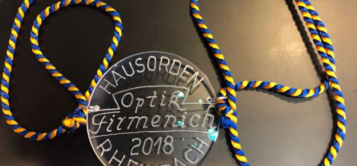 Prinzenempfang bei Optik Firmenich am 27.01.2018
