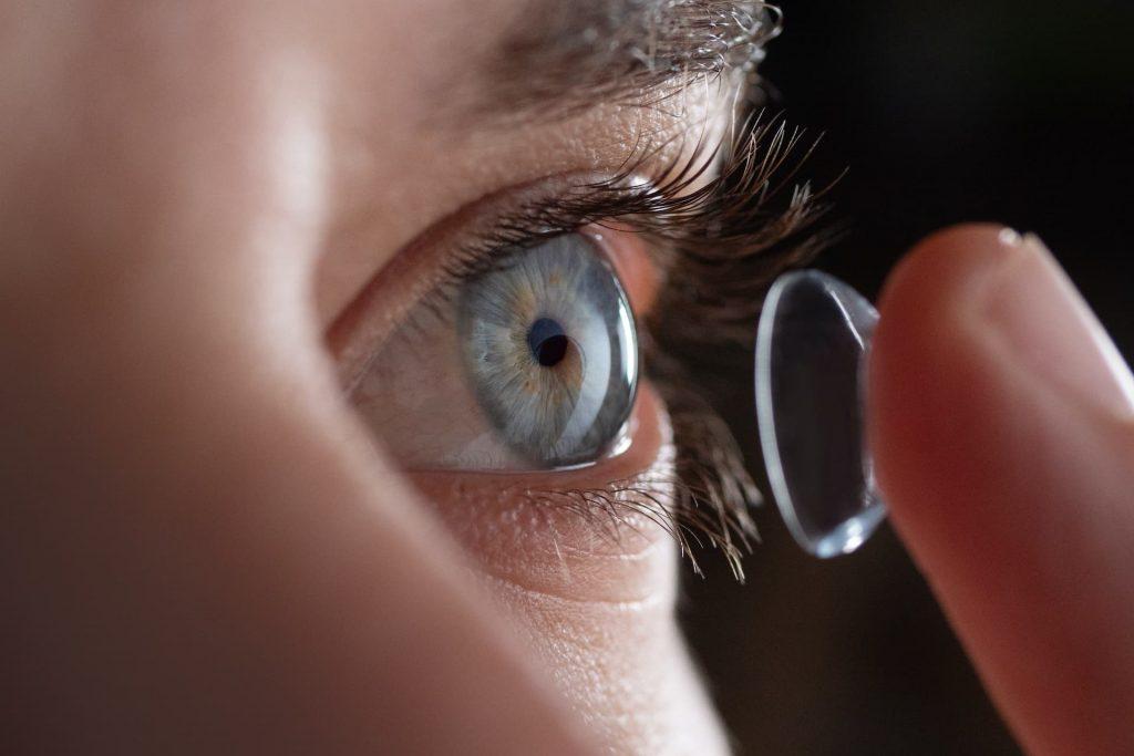 Contactlinsen kostenlos Probetragen