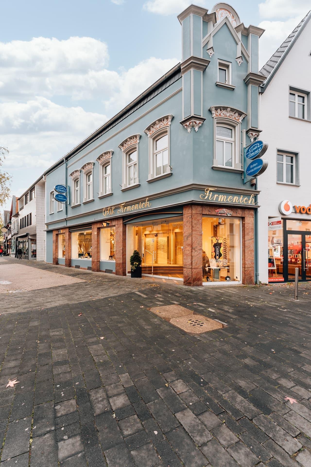 Optik Firmenich Rheinbach Laden Eingang Ansicht